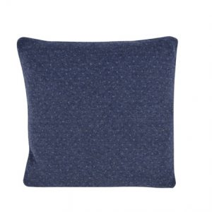 Blå lus uld pude 45 x 45 cm