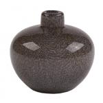 Gråsort æble trend vaser 7 cm