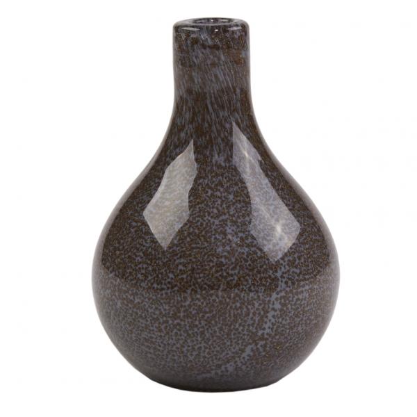 Gråsort pære trend vaser 12 cm