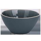Havblå keramisk salat skål Ø 25 cm