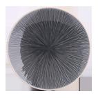 Havblå keramisk tallerken Ø 28 cm