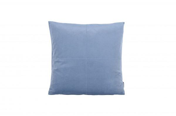 Himmelblå kvadrat pude 45 x 45 cm