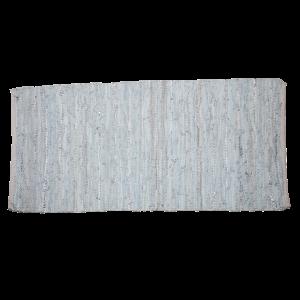 Trendy natur læder tæppe 70 x 140 cm