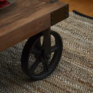 Trendy sand læder tæppe 70 x 140 cm a