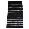 Trendy sort læder tæppe 70 x 140 cm