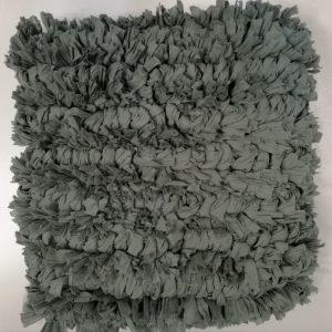 Koksgrå strop pude 45 x 45 cm